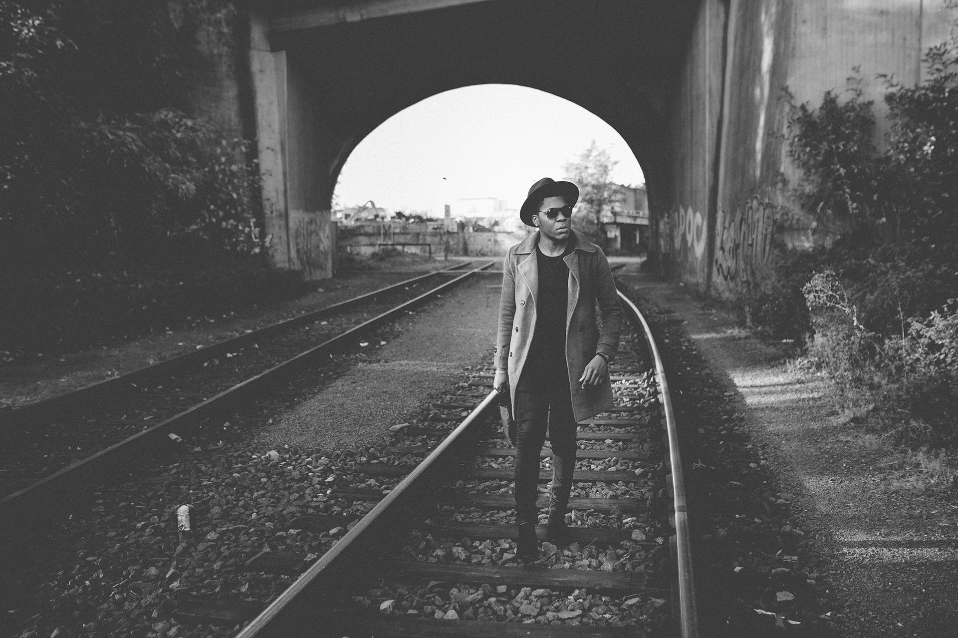 Billy im Walk - schwarz-weiß