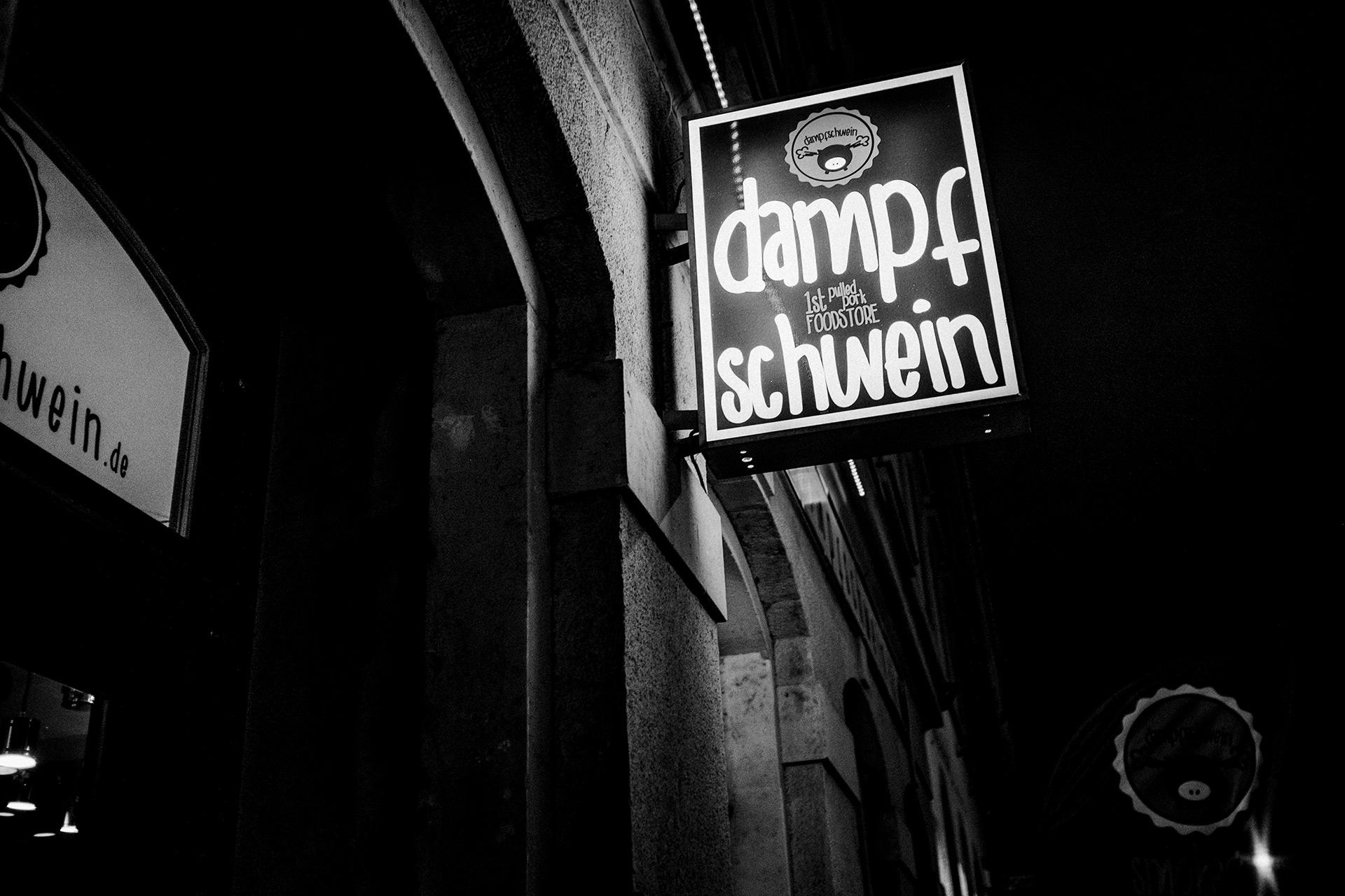 Dampfschwein Dresden