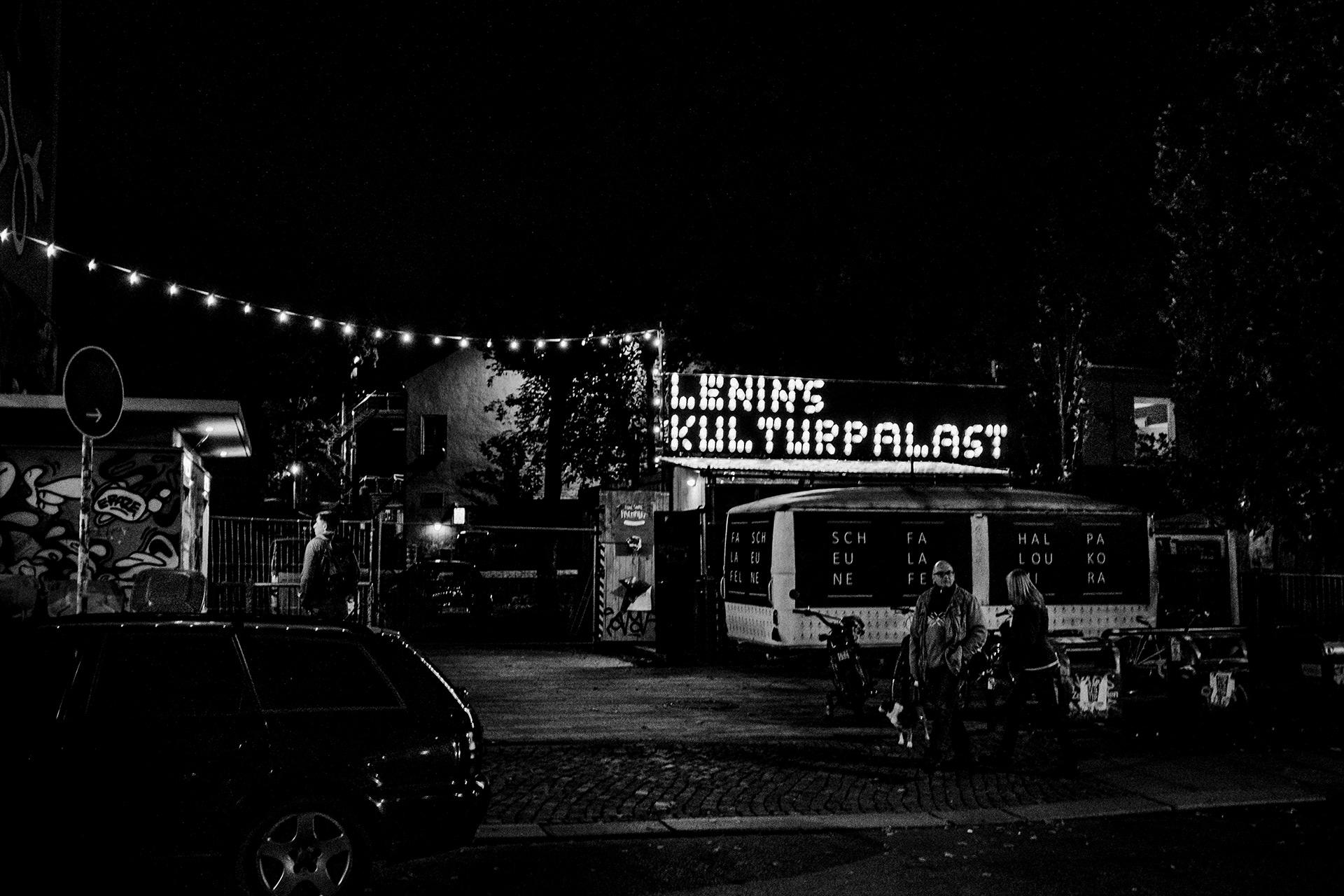 Lenin´s Kulturpark bei Nacht