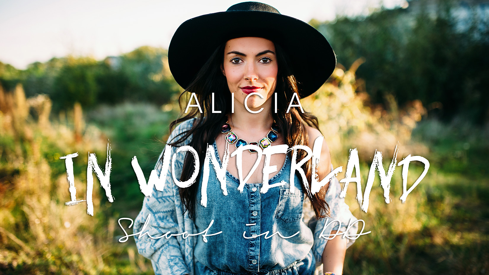 Alicia in Wonderland Shooting